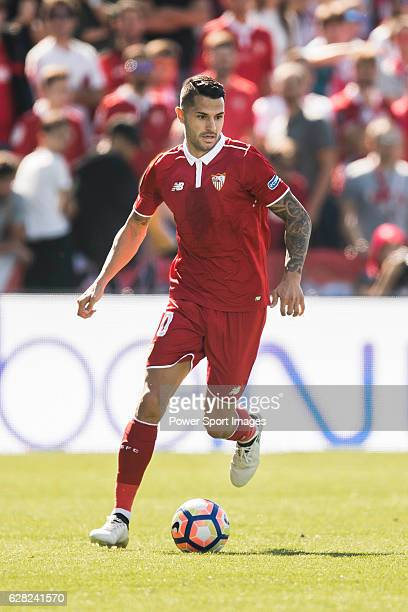 Vitolo of Sevilla FC in action during their La Liga match between Deportivo Leganes and Sevilla FC at the Butarque Municipal Stadium on 15 October...