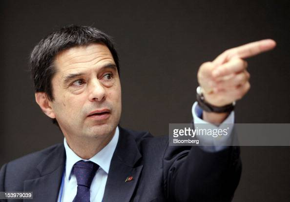 Vitor Gaspar Portugal's finance minister gestures as he speaks during a World Bank Group panel session at the Annual Meetings of the International...