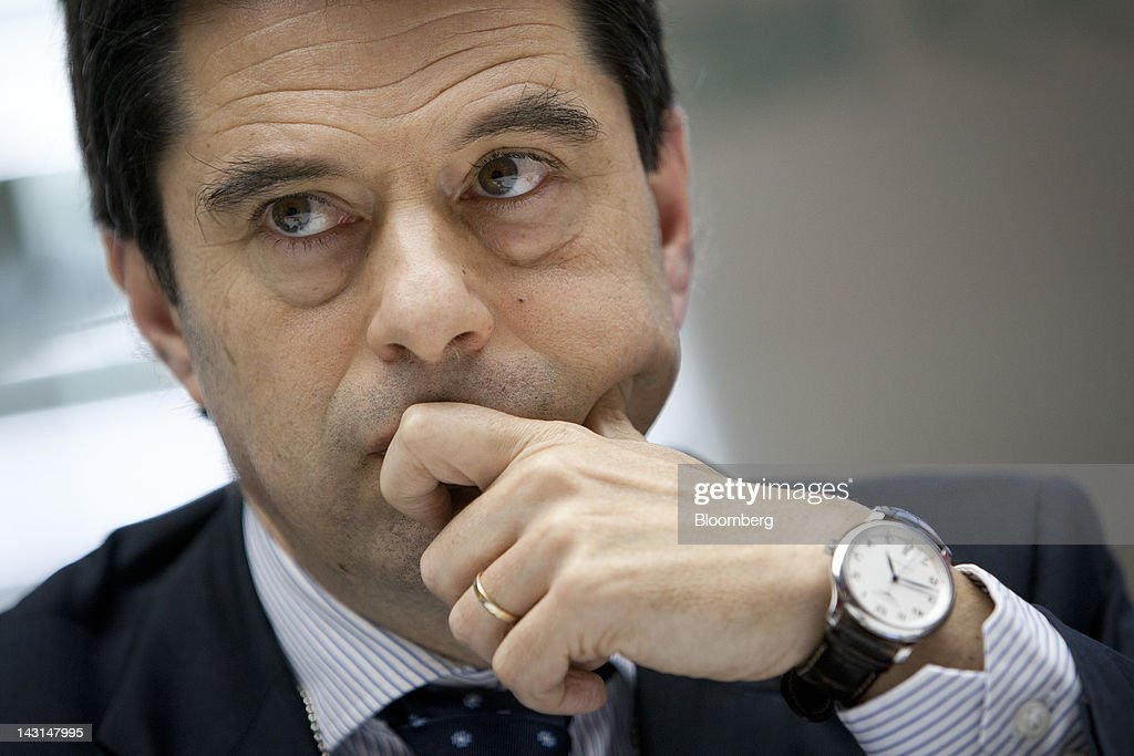 Vitor Gaspar Portugal's finance minister pauses during an interview in New York US on Thursday April 19 2012 Gaspar said yesterday international...