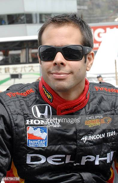 'Vitor Meira during opening ceremony at Bridgestone Indy Japan at Twin Ring Motegi on April 21 2007 '