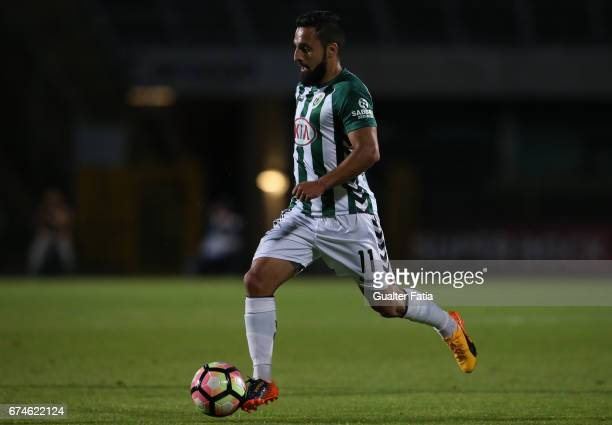 Vitoria de SetubalÕs forward Joao Costinha in action during the Primeira Liga match between Vitoria Setubal and Vitoria Guimaraes at Estadio do...