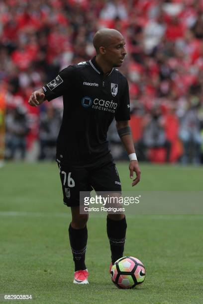 Vitoria Guimaraes defender Bruno Gaspar from Portugal during the match between SL Benfica and Vitoria SC for the Portuguese Primeira Liga at Estadio...