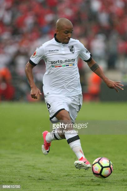 Vitoria Guimaraes defender Bruno Gaspar from Portugal during the match between SL Benfica and Vitoria SC for the Portuguese Cup Final at Estadio...