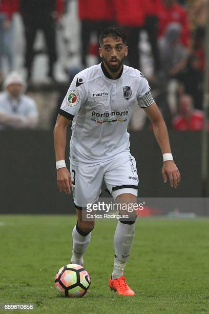 Vitoria Guimaraes defender Josue Sa from Portugal during the match between SL Benfica and Vitoria SC for the Portuguese Cup Final at Estadio Nacional...