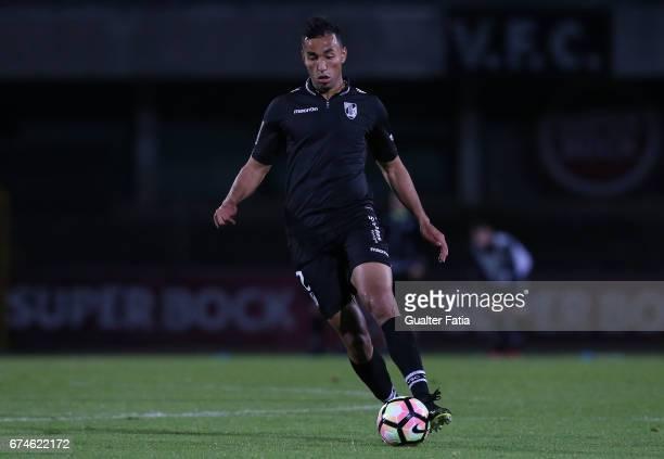 Vitoria GuimaraesÕ defender Pedro Henrique in action during the Primeira Liga match between Vitoria Setubal and Vitoria Guimaraes at Estadio do...
