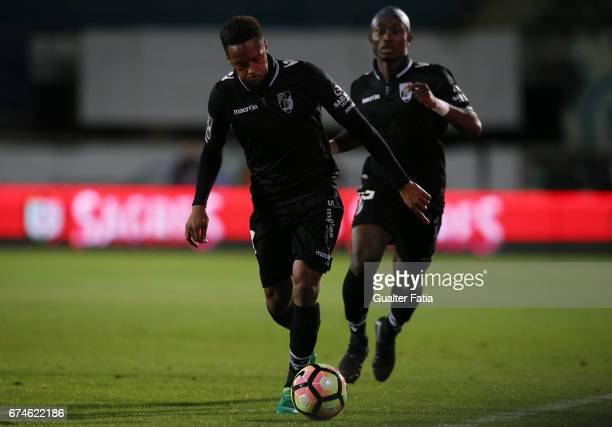 Vitoria GuimaraesÕ forward Hernani Fortes in action during the Primeira Liga match between Vitoria Setubal and Vitoria Guimaraes at Estadio do Bonfim...