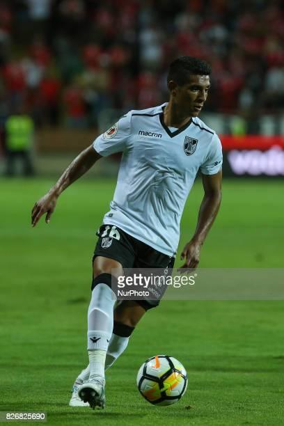 Vitoria Guimaraes forward Paolo Hurtado during the Candido Oliveira Super Cup match between SL Benfica and Vitoria Guimaraes at Municipal de Aveiro...