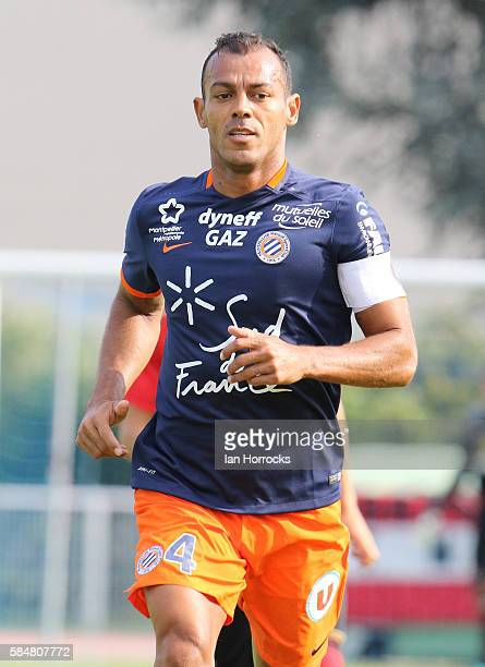 Vitorino Hilto Da Silva of Montpellier during the preseason friendly match between Sunderland AFC and Montpellier HSC at Stade Jacques Forestier on...