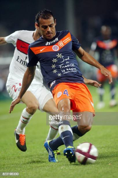 Vitorino HILTON Montpellier / PSG 8eme journee de Ligue 1