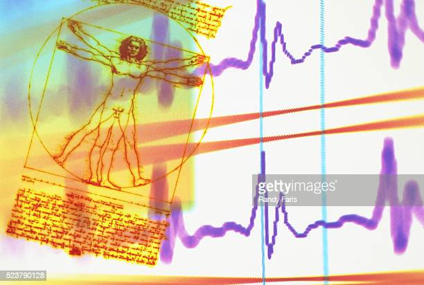 'Vitruvian Man' and EKG