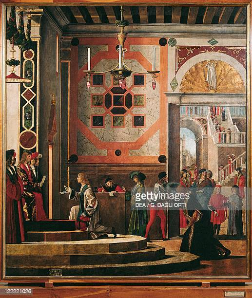 Vittore Carpaccio Scenes from the Life of Saint Ursula The Repatriation of the English Ambassadors