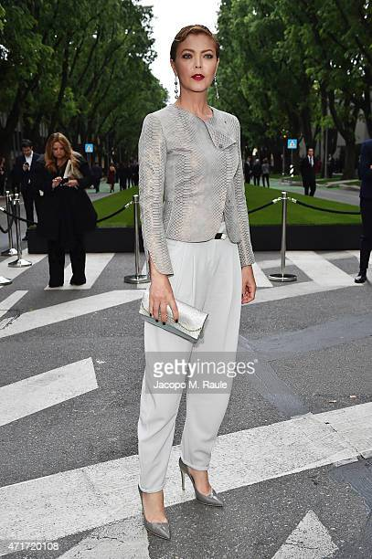 Vittoria Belvedere attends the Giorgio Armani 40th Anniversary Silos Opening And Cocktail Reception on April 30 2015 in Milan Italy