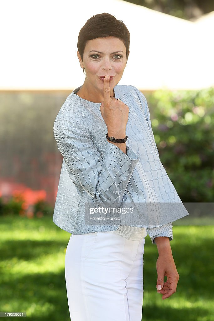 Vittoria Belvedere attends the 'Un Caso Di Coscienza 5' photocall at Casa del Cinema on September 5, 2013 in Rome, Italy.