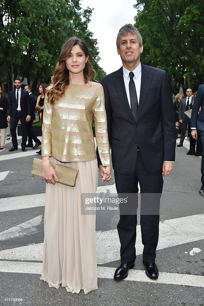 Vittoria Puccini attends the Giorgio Armani 40th Anniversary Silos Opening And Cocktail Reception on April 30 2015 in Milan Italy