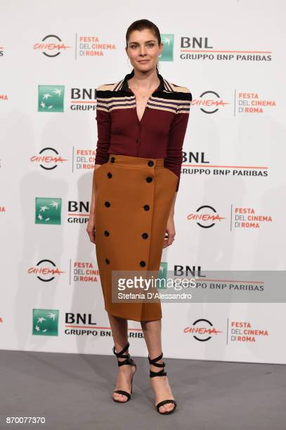 Vittoria Puccini attends 'The Place' photocall during the 12th Rome Film Fest at Auditorium Parco Della Musica on November 4 2017 in Rome Italy
