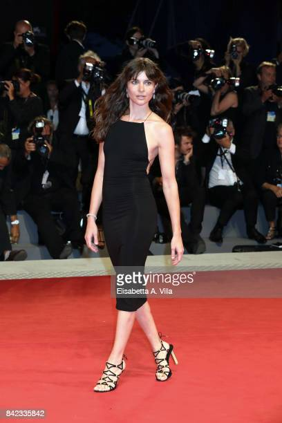 Vittoria Puccini from Kineo delegation walks the red carpet ahead of the 'The Leisure Seeker ' screening during the 74th Venice Film Festival at Sala...