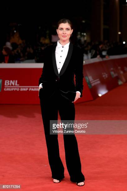 Vittoria Puccini walks a red carpet for 'The Place' during the 12th Rome Film Fest at Auditorium Parco Della Musica on November 4 2017 in Rome Italy