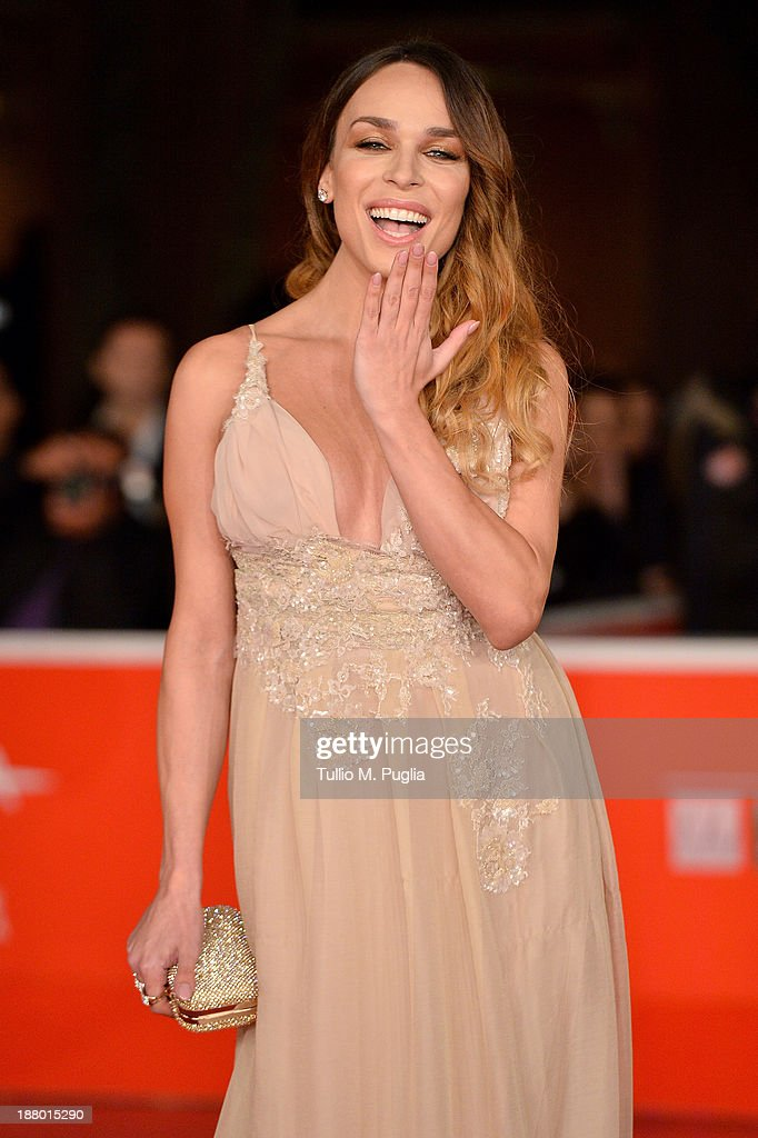 Vittoria Schisano attends the 'Take Five' Premiere during The 8th Rome Film Festival at Auditorium Parco Della Musica on November 14, 2013 in Rome, Italy.