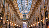 The Galleria Vittorio Emanuele II is one of the world's oldest shopping malls located in Milan, Italy