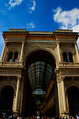 Galleria Vittorio Emanuele II, oldest shopping mall in Italy