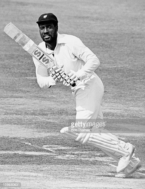 Viv Richards batting for Somerset circa 1979