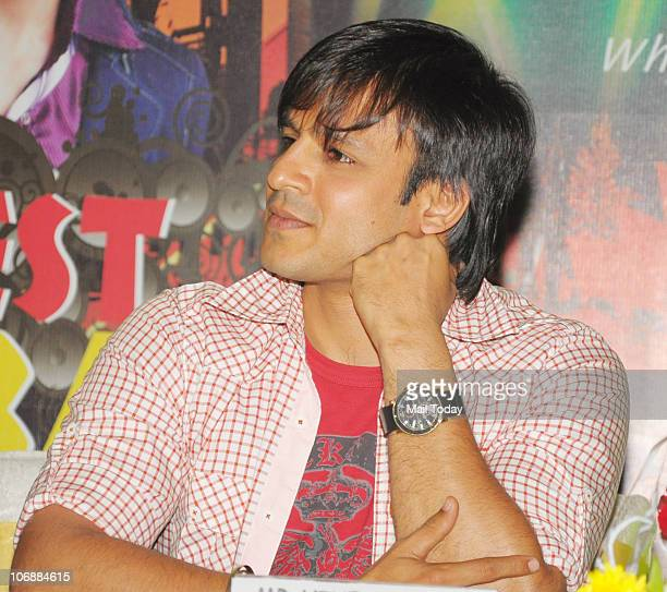 Vivek Oberoi at a promotional event in Mumbai on November 12 2010