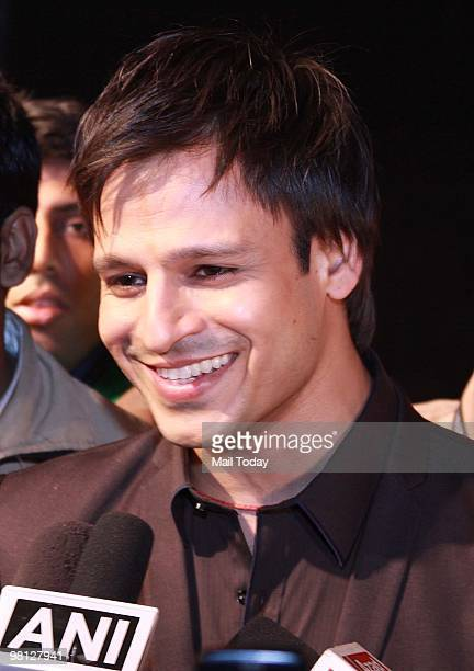 Vivek Oberoi at day two of the Wills Lifestyle India Fashion Week Autumn Winter 2010 in New Delhi on March 26 2010