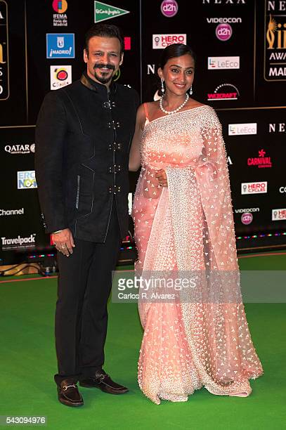 Vivek Oberoi attends the 17th IIFA Awards at Ifema on June 25 2016 in Madrid Spain
