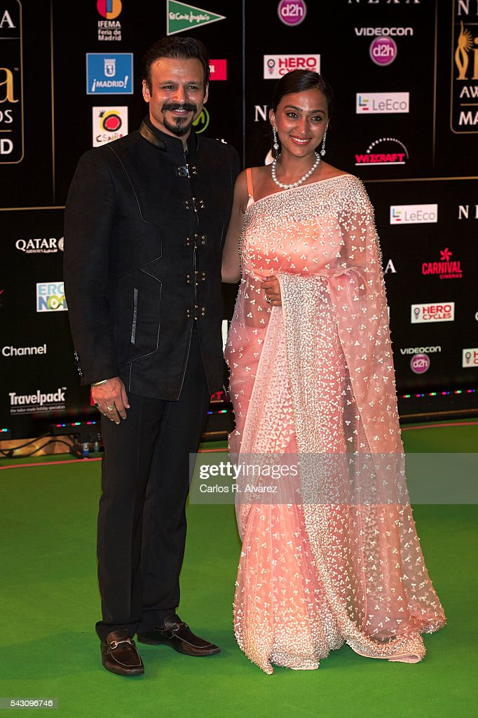 <a gi-track='captionPersonalityLinkClicked' href=/galleries/search?phrase=Vivek+Oberoi&family=editorial&specificpeople=627274 ng-click='$event.stopPropagation()'>Vivek Oberoi</a> attends the 17th IIFA Awards (International Indian Film Academy Awards) at Ifema on June 25, 2016 in Madrid, Spain.