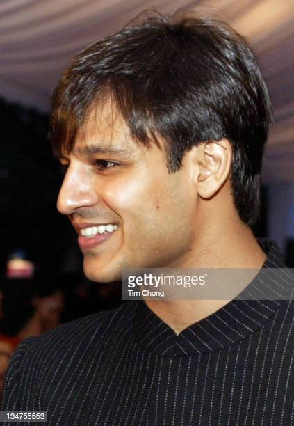Vivek Oberoi during IIFA Bollywood Awards 2004 Arrivals at Indoor Stadium in Singapore SGP Singapore