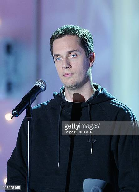 'Vivement Dimanche' Tv Show In Paris France On May 07 2009 Grand Corps Malade