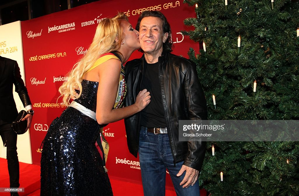 Vivian Conca Albert Hammond during the 20th Annual Jose Carreras Gala on December 18 2014 in Rust Germany