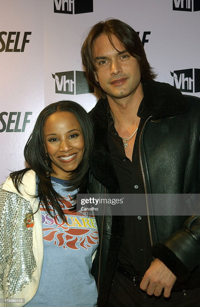 Vivian Green and Marcus Schenkenberg during Self Magazine Partners with VH1 on 'The 100 Most Wanted Bodies' at AER in New York City New York United...