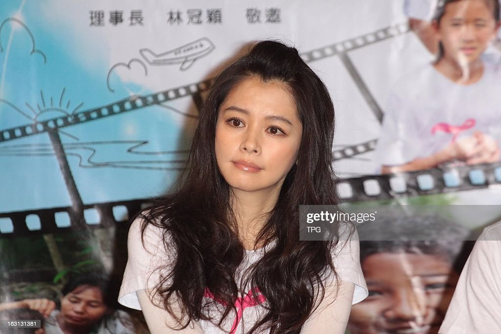 Vivian Hsu attend micro film support public benefit activities on Tuesday March 05,2013 in Taipei Taiwan,China.