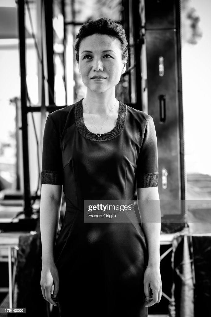Vivian Qu attends the 'Trap Street' Portrait Session as part of the 70th Venice International Film Festival on August 31, 2013 in Venice, Italy.