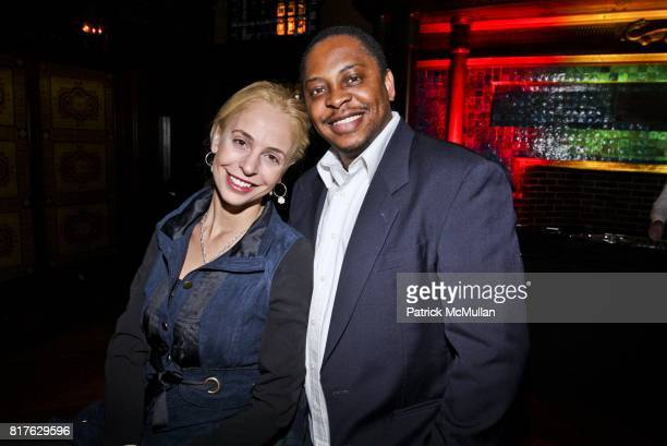 Vivian Van Dijk and Pamphil Kiu attend 35th ANNIVERSARY PARTY OF ICI at Park Avenue Armory on December 9 2010 in New York City
