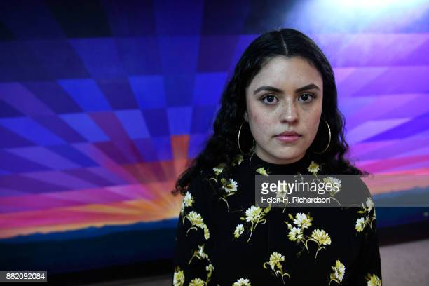 DENVER CO OCTOBER 16 Viviana Andazola Marquez speaks to members of the press at Meyer Law Office on October 16 2017 in Denver Colorado On Thursday...