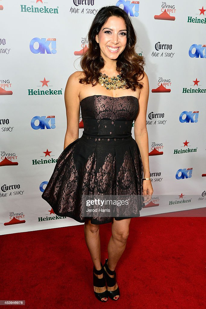 Viviana Vigil attends OK! TV Awards Party at Sofitel Hotel on August 21, 2014 in Los Angeles, California.