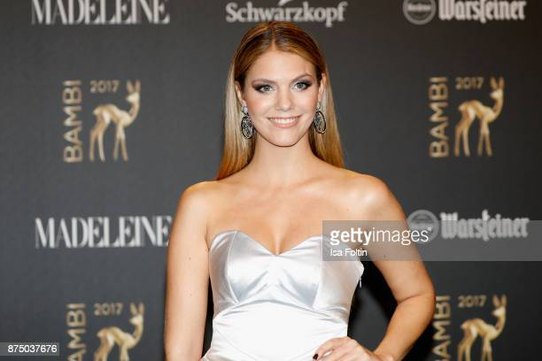 Viviane Geppert arrives at the Bambi Awards 2017 at Stage Theater on November 16 2017 in Berlin Germany
