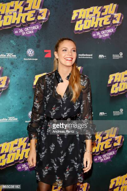 Viviane Geppert attends the 'Fack ju Goehte 3' premiere at Mathaeser Filmpalast on October 22 2017 in Munich Germany