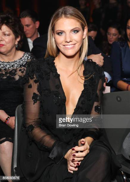 Viviane Geppert attends the Tribute To Bambi show at Station on October 5 2017 in Berlin Germany