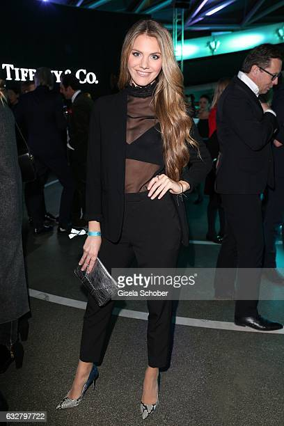 Viviane Geppert during the 'A New York Minute' party hosted by Tiffany Co at BMW World on January 26 2017 in Munich Germany