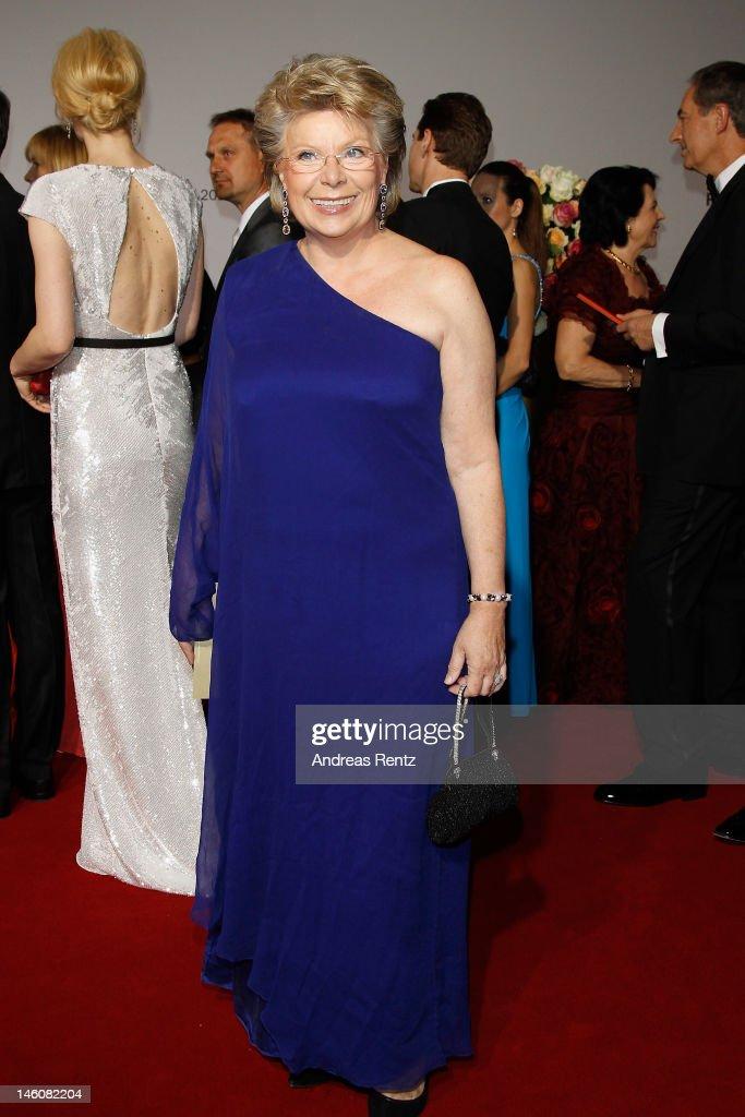 Viviane Reding attends the Rosenball at Hotel Intercontinental on June 9, 2012 in Berlin, Germany.
