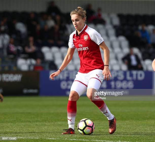 Vivianne Miedema of Arsenal during Women's Super League 1match between Arsenal against Bristol City Women at Meadow Park Borehamwood FC on 08 Oct 2017