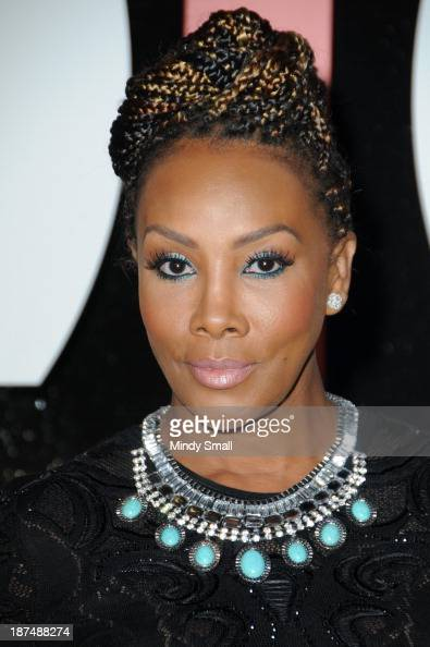 Vivica A Fox arrives at the Soul Train Awards 2013 at the Orleans Hotel Casino on November 8 2013 in Las Vegas Nevada