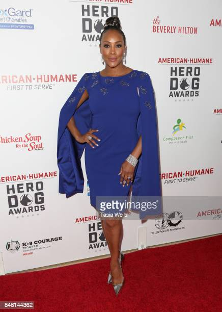 Vivica A Fox at the 7th Annual American Humane Association Hero Dog Awards at The Beverly Hilton Hotel on September 16 2017 in Beverly Hills...