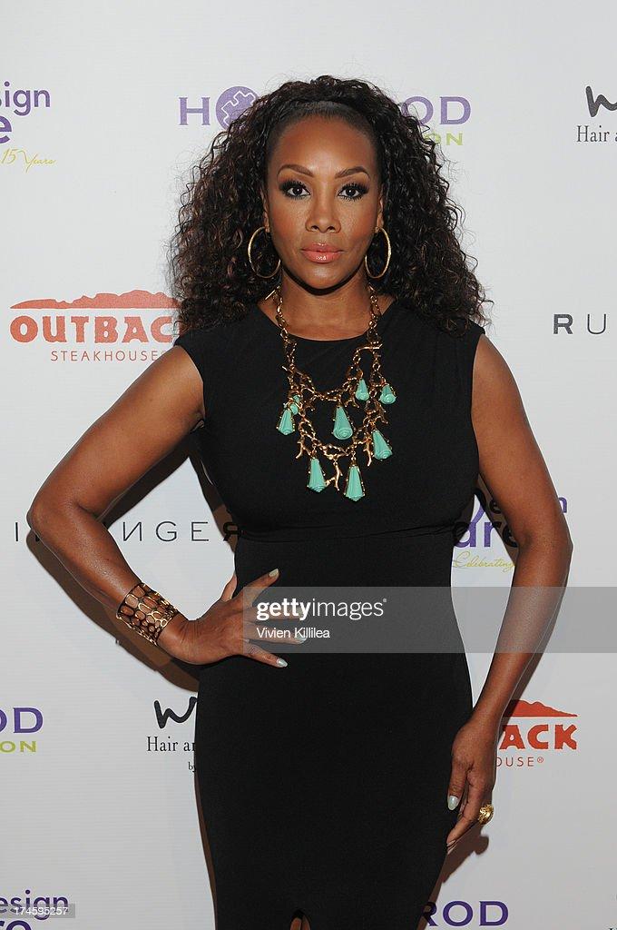 Vivica A. Fox attends 15th Annual DesignCare on July 27, 2013 in Malibu, California.