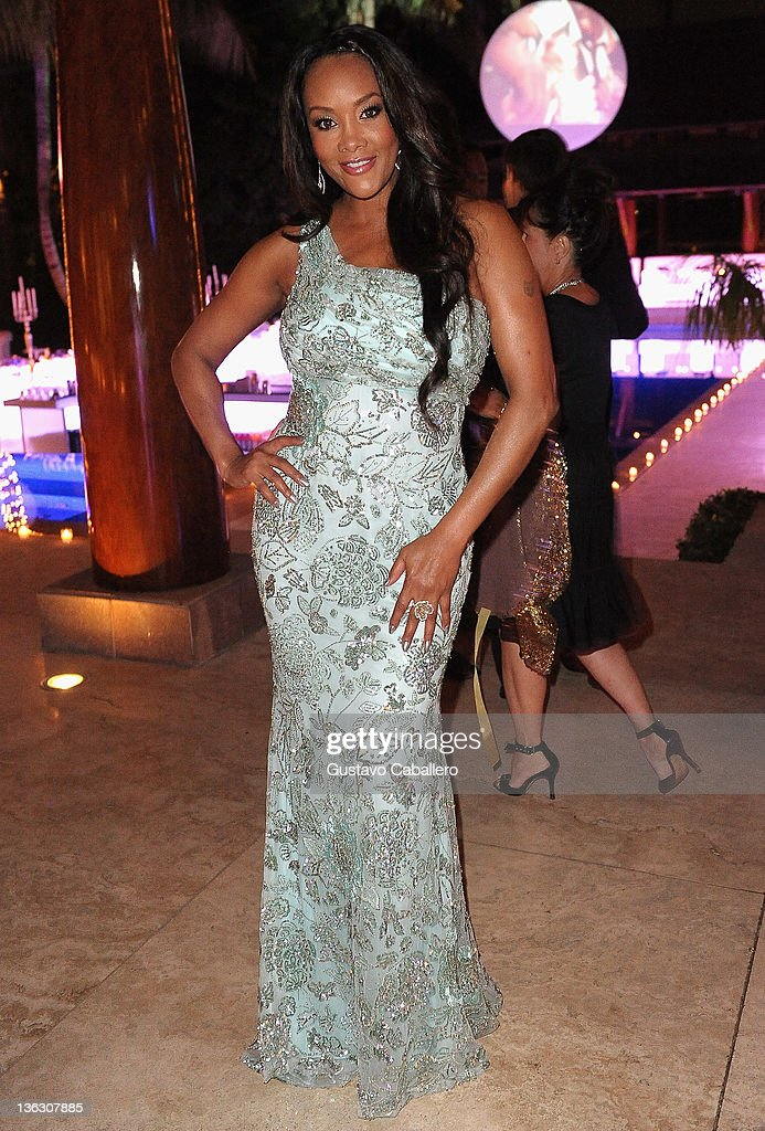 <a gi-track='captionPersonalityLinkClicked' href=/galleries/search?phrase=Vivica+A.+Fox&family=editorial&specificpeople=201901 ng-click='$event.stopPropagation()'>Vivica A. Fox</a> attends a Private Residence on December 31, 2011 in Miami Beach, Florida.