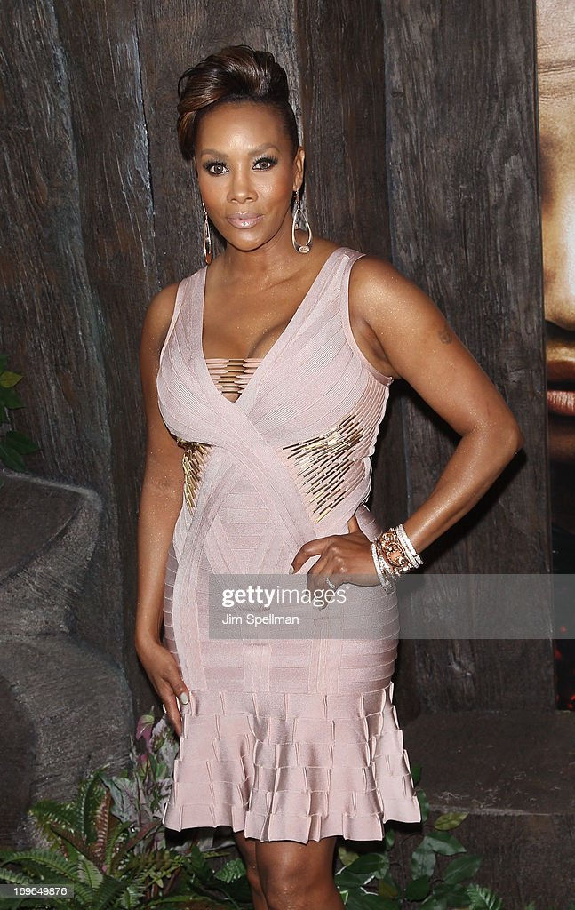 Vivica A. Fox attends the 'After Earth' premiere at the Ziegfeld Theater on May 29, 2013 in New York City.
