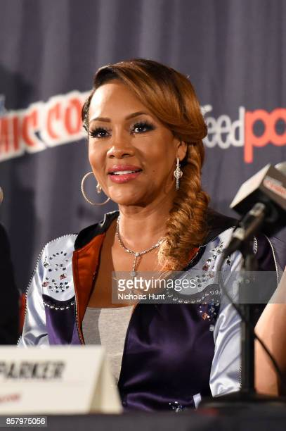 Vivica A Fox attends the Explosion Jones Panel at the 2017 New York Comic Con Day 1 on October 5 2017 in New York City